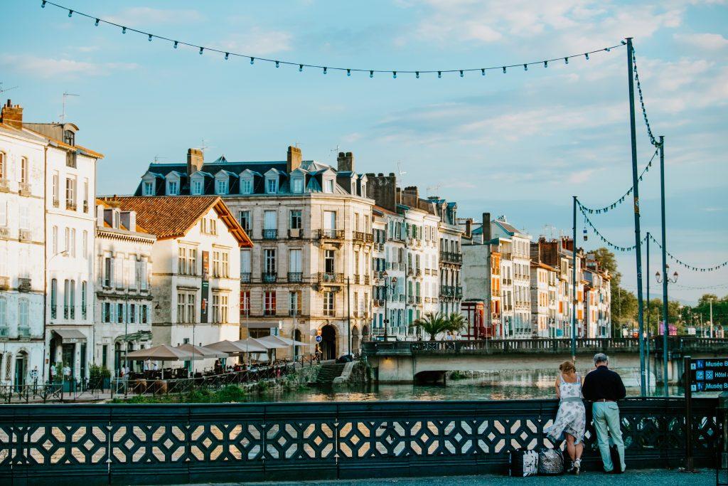 La ville de Bayonne au Pays Basque